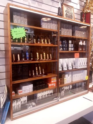 Theo Wanne mouthpiece display