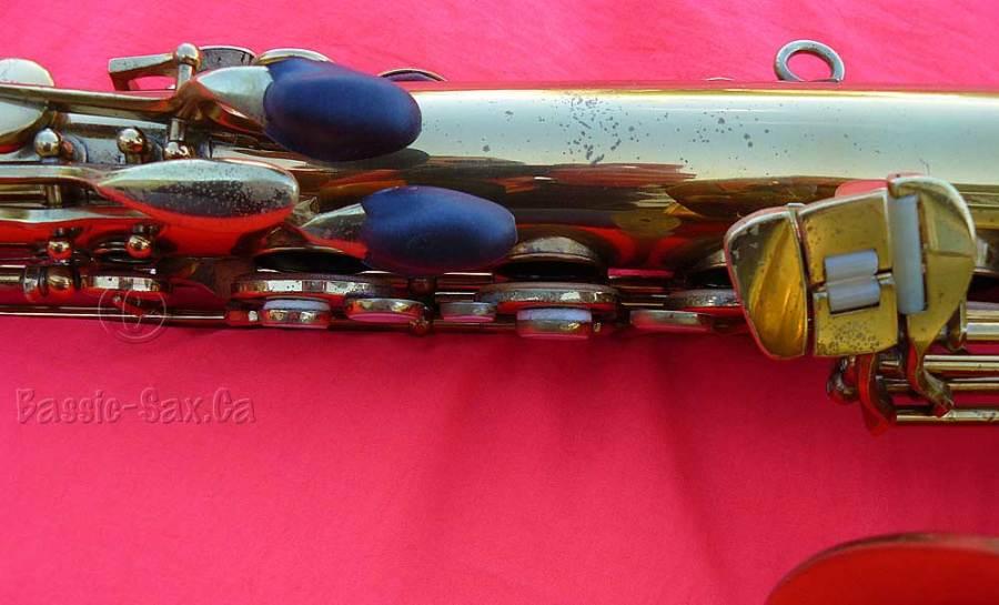 Devillers tenor sax, stencil sax, D&J, saxophone keys, vintage sax, German sax