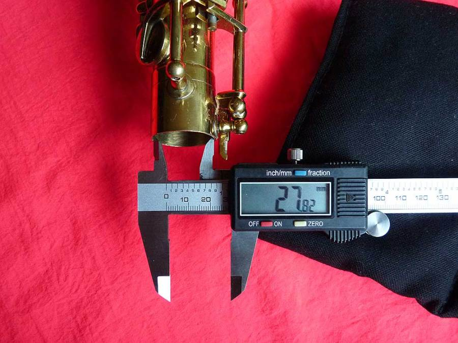 Julius Keilwerth, tenor saxophone, socket size, vintage, German