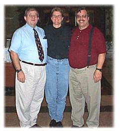 Wayne Shell, Helen Kahlke, Paul Coats, New Orleans.