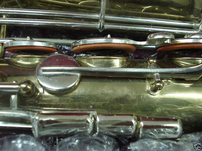 saxophone, rolled tone holes, Dörfler & Jörka