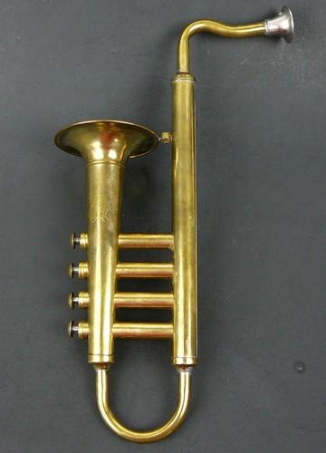 Delinot, 4 valve toy saxophone,  brass, French, vintage toys,