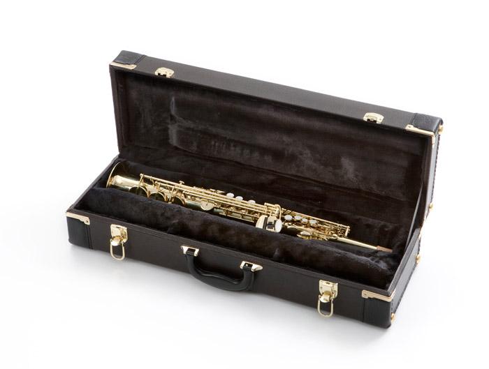 C pitched soprano, International Woodwind, IW C Soprano Sax