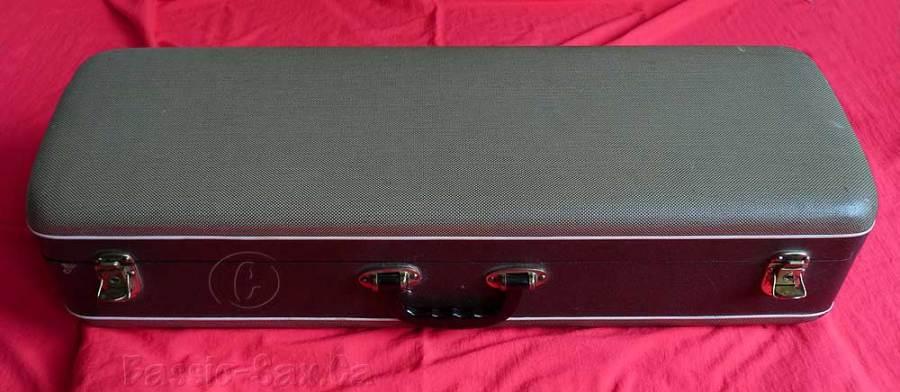 saxophone case, vintage, German, mid 20th century