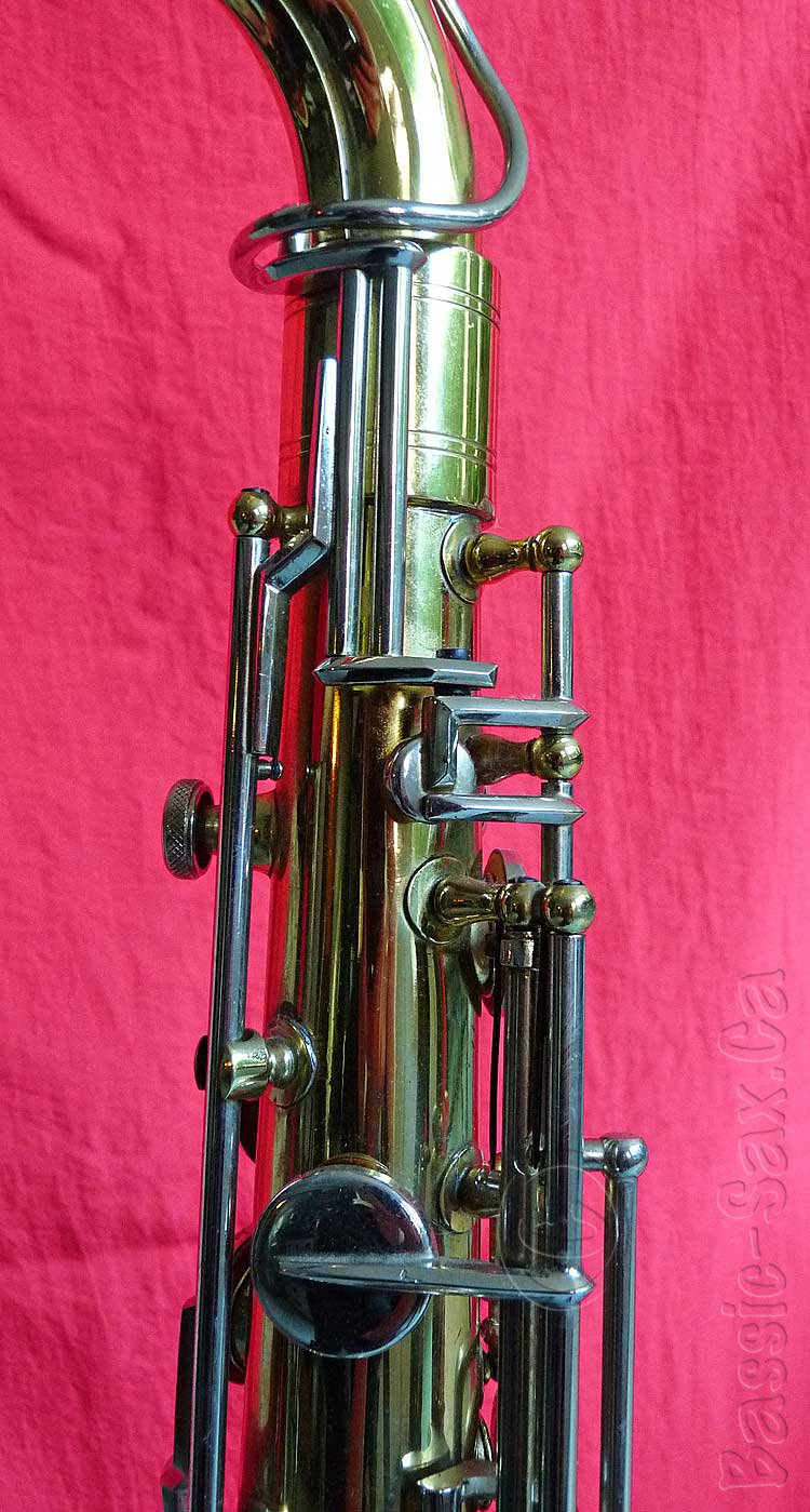 octave mechanism, saxophone, Hohner President sax