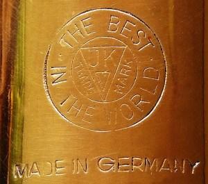 Julius Keilwerth, company logo, Nauheim, Germany