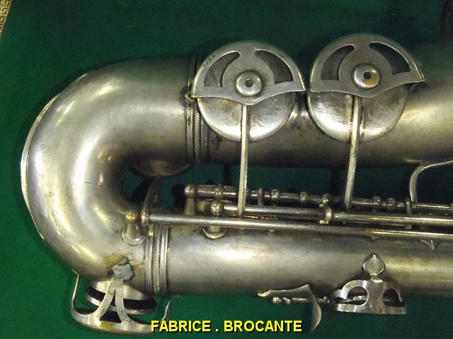 alto sax, Maurice Boiste, vintage French saxophone, bell keys