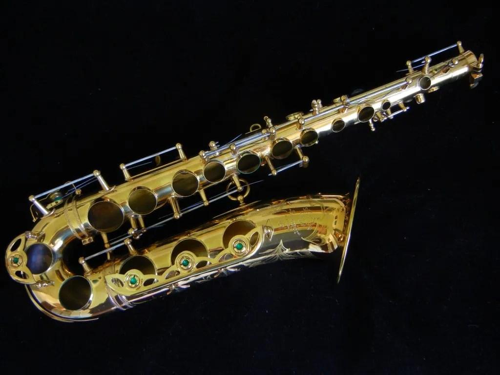 alto saxophone body, Selmer, low A alto sax, tone holes,