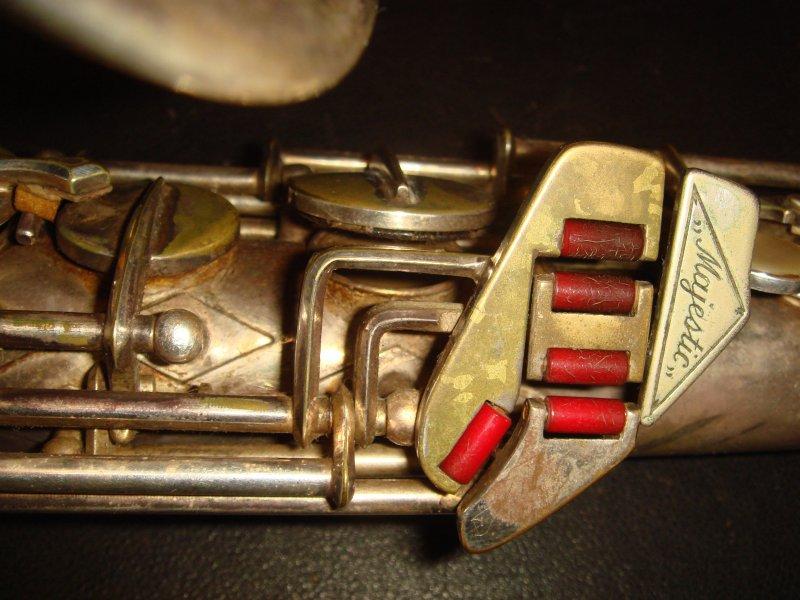 saxophone keys, Eugen Schuster saxophone, silver sax, vintage, East German saxophone,