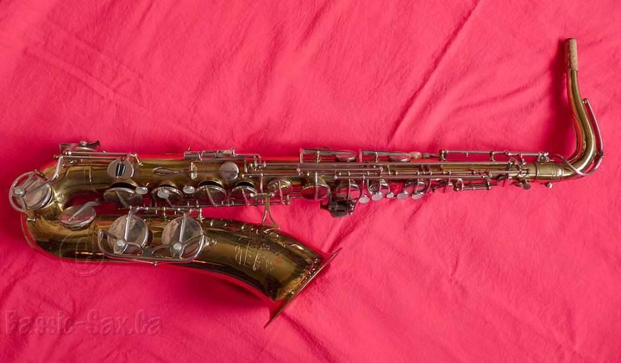 tenor saxophone, Kohlert Regent tenor sax, vintage german saxophone,