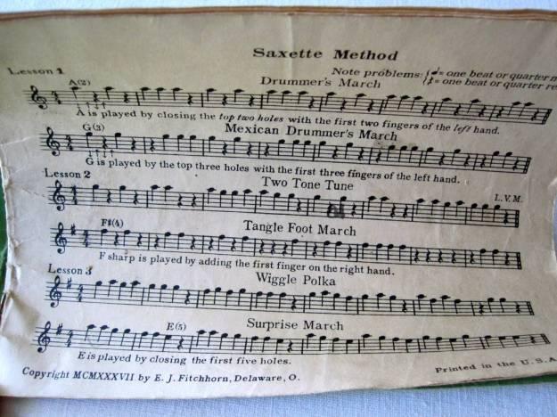 Music Book Lesson 1