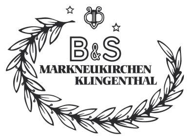 B&S logo, B&S saxophones, VMI