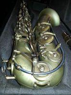 B&S Codera saxophone, sax keys