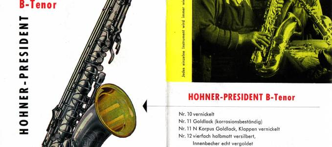 President Tenor Saxophone