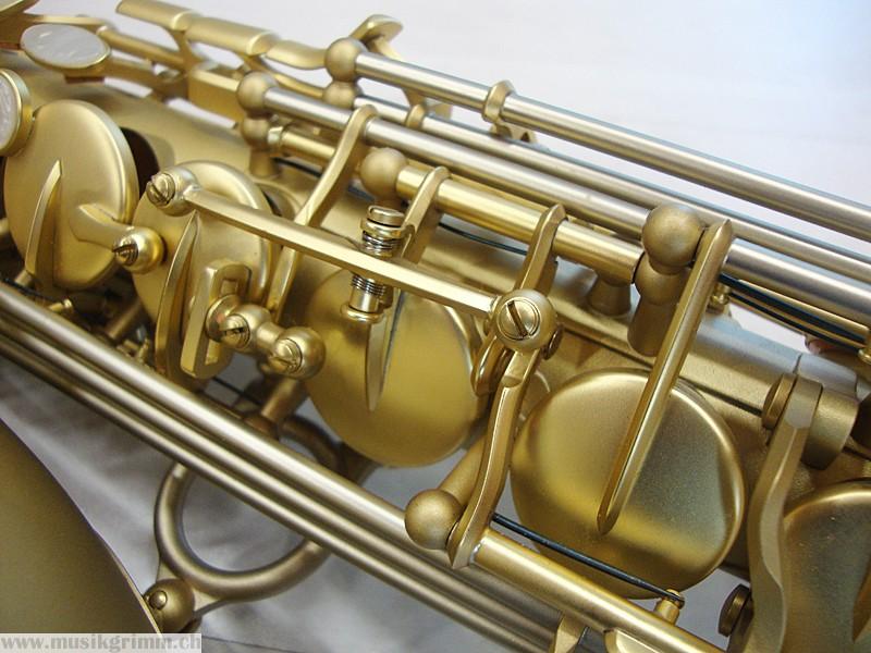 Series 2006 - Medusa, non-stick G# key, B&S Medusa saxophone, alto sax