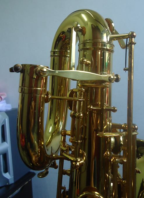 F. Schmidt baritone # 0106XX Source: A Friend of Bassic Sax