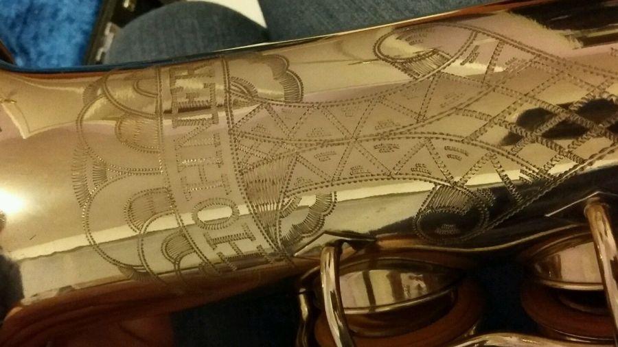 Hohner President, alto sax, vintage sax, German sax, Max Keilwerth, saxophone, bell engraving