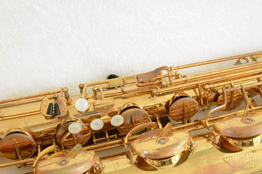 H. Couf, saxophone keys, bari sax, vintage baritone sax, German saxophone, Keilwerth