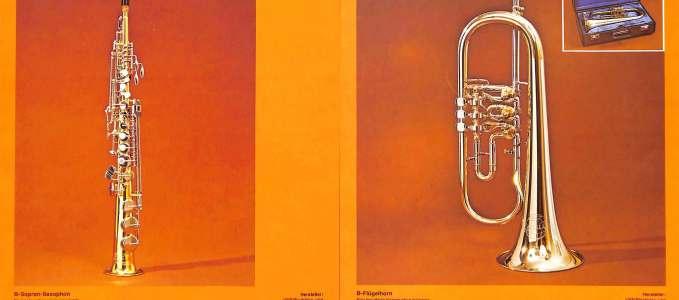 Soprano 262 & Bb Flugelhorn 17