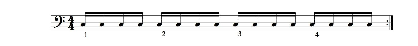 valeurs rythmiques les doubles croches