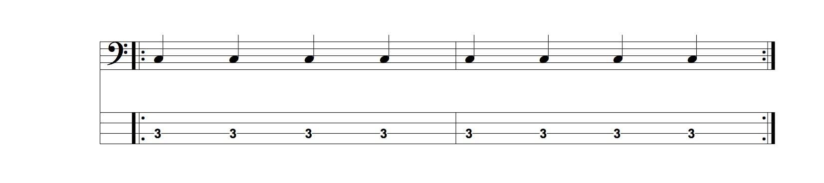 le rythme explique aux bassistes debutants - rythme bassistes debutants