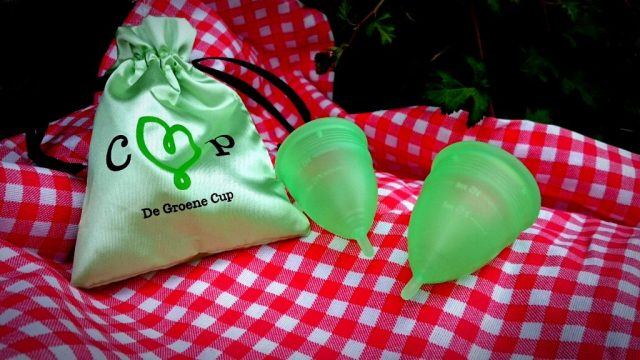 De Groene Cup - Reusable menstrual cup from The Netherlands