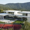 Modern glass houses floating modern small glass house architecture