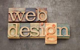 web design text