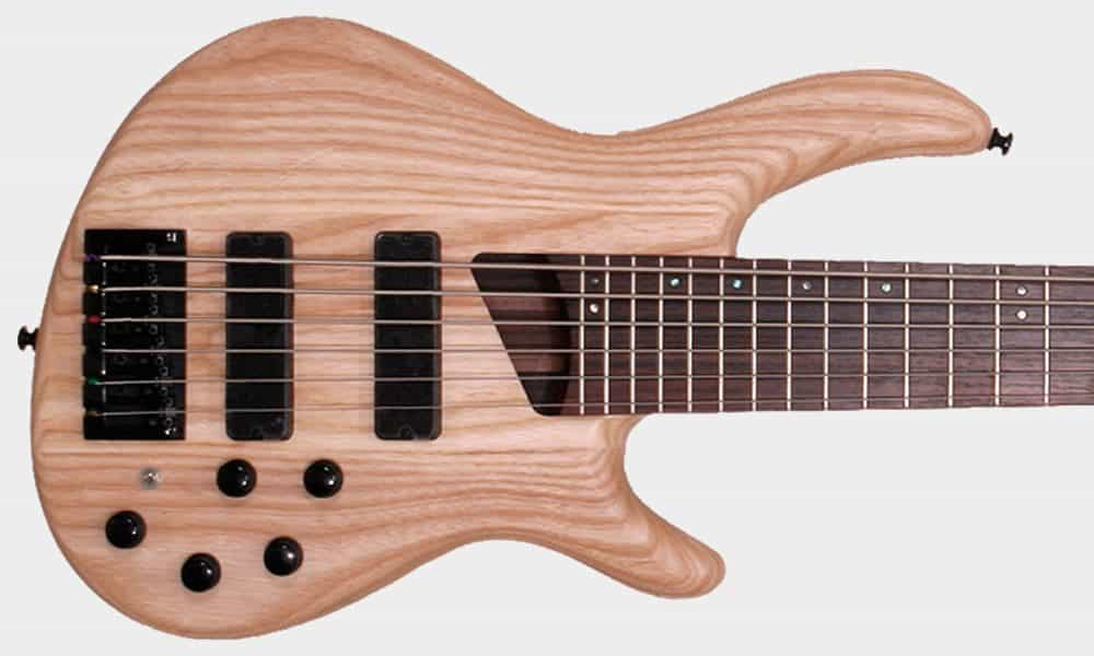 Cort Introduces New 6string Bass With Openpore Finish To