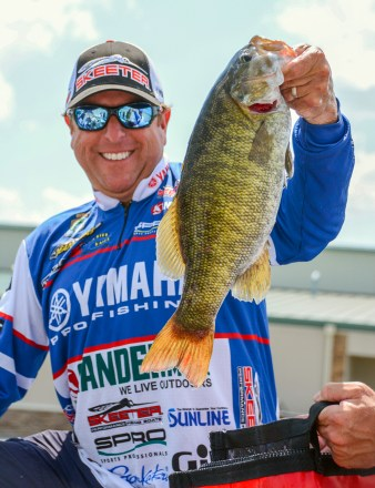 Gander Mountain pro Dean Rojas is Bass Nomad Chris's choice to bust the bracket. Photo by Joel Shangle.