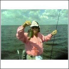 Bluegill fishing on Lake Okeechobee