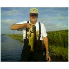 Fishing in the Everglades of South Florida