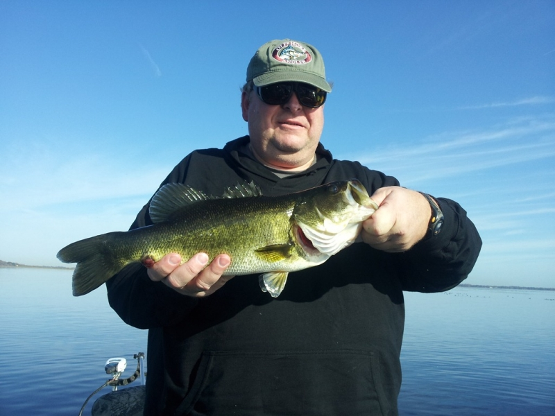 Black bass florida fishing report orlando bass fishing for Florida bass fishing guides