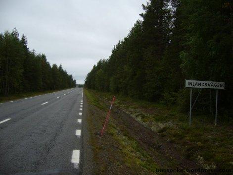 Inlandsvägan, ein anderer Name für die E45
