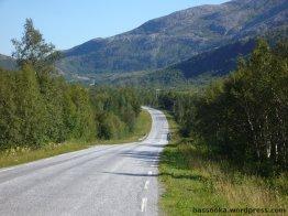 Weg in die Berge