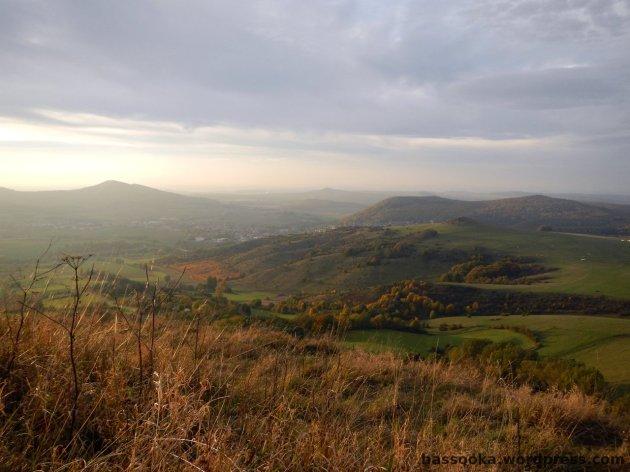 Ausblick vom Hohen Dörnberg