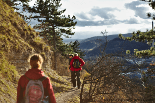 Wandern, Mittlere Horizontale, Jena