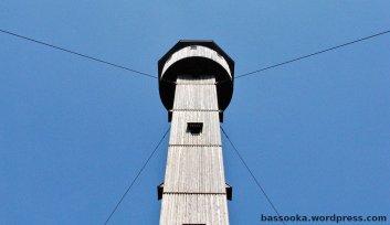 Aussichtsturm Heldrastein, ehemaliger Abhörturm