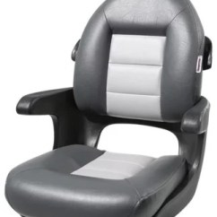 Folding Chairs For Boats Deluxe Massage Chair Boat Seats Bass Pro Shops Tempress Elite High Back Helm Seat