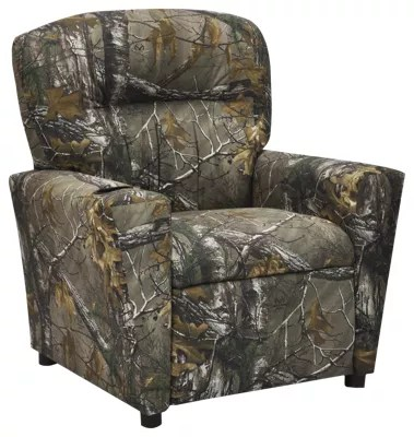 big and tall hunting chairs thrive kennedy chair camo recliners furniture bass pro shops kidz world for kids