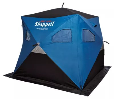 ice fishing chair shelter best small gaming shanties shelters sleds bass pro shops shappell wide house 5500 hub