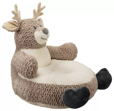 stuffed animal chair contemporary accent chairs bass pro shops deer plush for kids