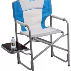 Folding Lawn Chairs Ontario Country French Upholstered Camping Bass Pro Shops Eclipse Director Chair With Side Table