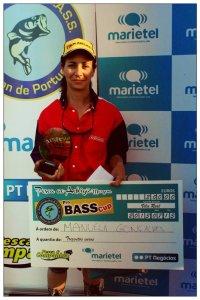 Manuela Gonçalves - 1ª classificada