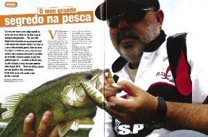 Artigo na revista O Mundo da Pesca - Junho de 2014