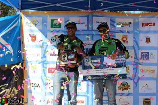 1º classificado do circuito de margem 2016 - Flávio Jerónimo (à esquerda)