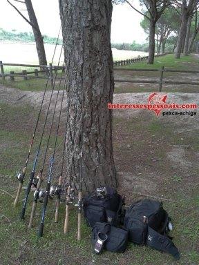 Guia de canas de pesca para achigã