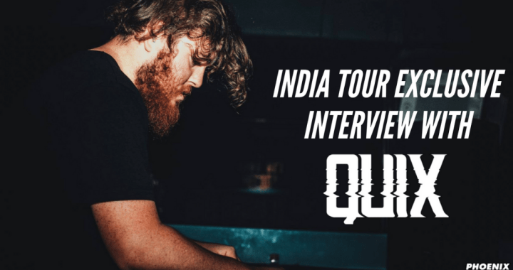 QUIX India Tour Interview with Bass Stud