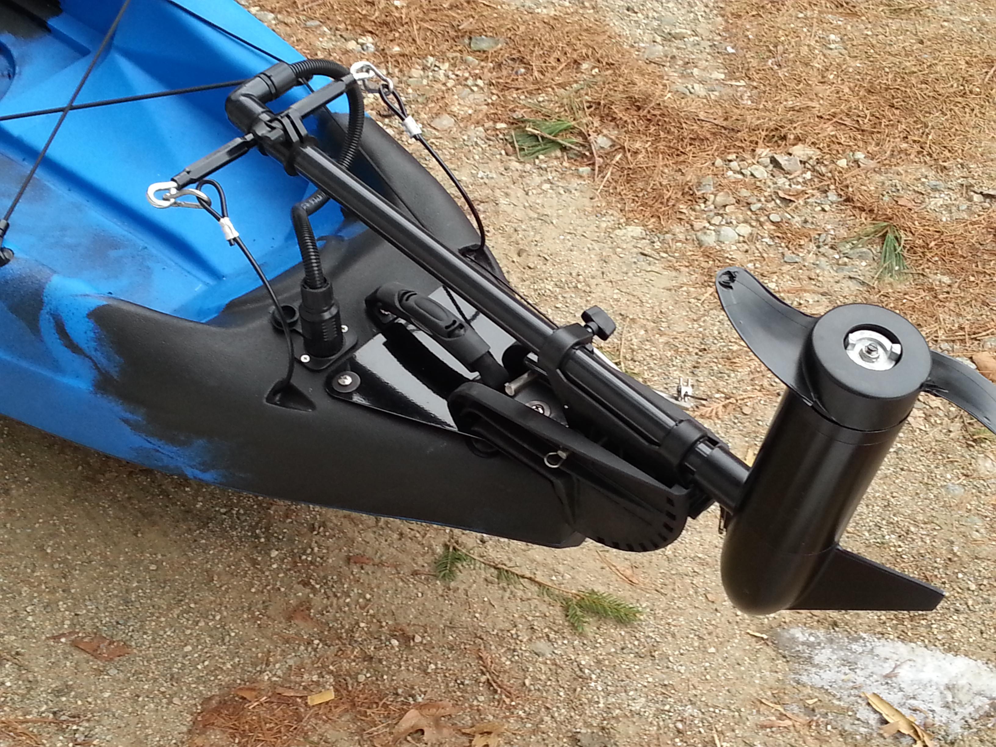 electric motor kayak speaker wiring diagram series vs parallel malibu bassyak kits bassyaks