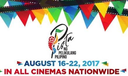 Pista ng Pelikulang Pilipino 2017, Showing sa Cebu!